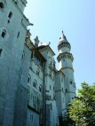 Die Aussenmauern des Märchenschloss