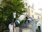 Von hier beginnt die Schlossführung: Wie Neuschwanstein können auch die Innenräume von Hohenschwanstein nur innerhalb einer Führung besichtigt werden