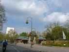 Das Elefantentor am Eingang Budapester Straße