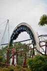 Hansa-Park: Looping der Achterbahn Nessie