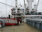 Kasseneingang zum Schiff